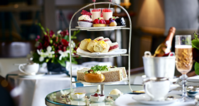 Royal Afternoon Tea at The Rubens